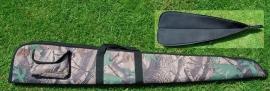 Hagelgeweerfoudraal camouflage of groen 142x20cm