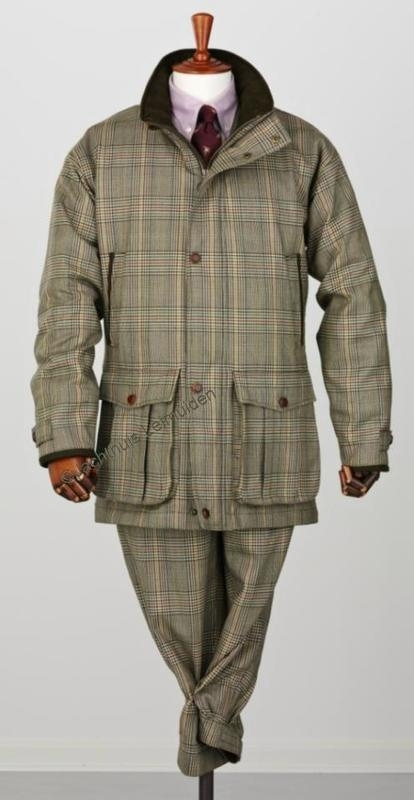 Laksen Tweed jas De Grey Wingfield Limited Edition