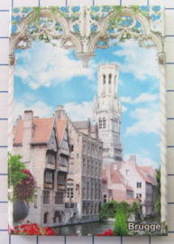koelkastmagneten Brugge N_BB139