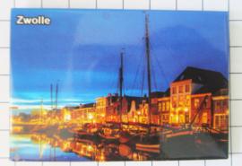 10 stuks koelkastmagneet   Zwolle N_OV3.005