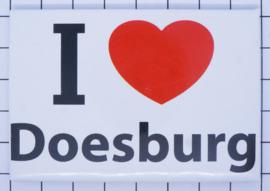 10 stuks koelkastmagneet I love Doesburg N_GE7.001