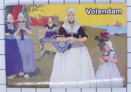 10 stuks koelkastmagneet  Volendam N_NH4.021