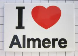 10 stuks koelkastmagneet I ♥ Almere N_FL1.002