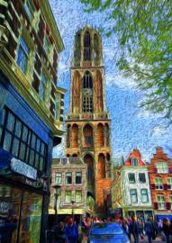 10 stuks poster op karton Dom van Utrecht POS-0054 posters(20.8Cm / 29.5Cm)