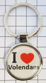 SLE_NH4.001 Sleutelhanger I love Volendam