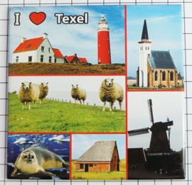 10 stuks Mega koelkastmagneet Texel MEGA_V_NH3.001