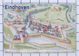 10 stuks koelkastmagneet  Eindhoven N_NB1.013
