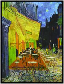 pak 25 posters (35.5 cm x  27.2 cm) POS203 cafe Vincent van Gogh