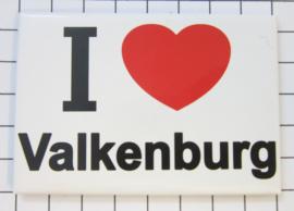 10 stuks koelkastmagneet I ♥ Valkenburg N_LI2.001
