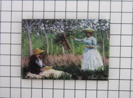 10 stuks koelkastmagneet Claude Monet MAC:20.452