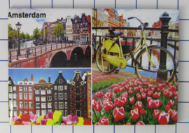 10 stuks koelkastmagneet Amsterdam 19.038