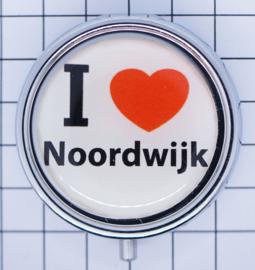 PIL_ZH10.001 pillendoosje met spiegel  ik hou van  Noordwijk