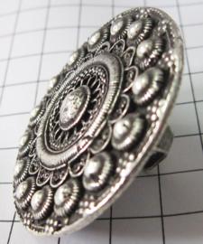 ZKR318 supergrote Zeeuwse knop ring 5 cm