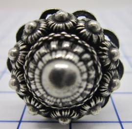 ZKR327 ring zeeuwse knoop verzilverd
