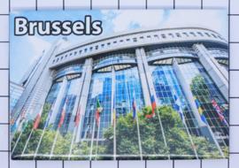 koelkastmagneet Brussels N_BX010