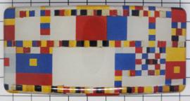 HAR 325 Haarspeld boogie woogie Mondriaan detail