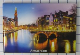 10 stuks koelkastmagneet Amsterdam 19.044