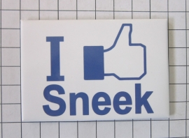 10 stuks koelkastmagneet I like Sneek N_FR3.001