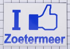 10 stuks koelkastmagneet  I like Zoetermeer  N_ZH13.002
