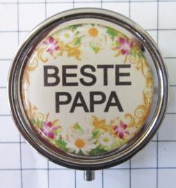 PIL 092 pillendoosje met spiegel beste papa