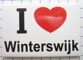 10 stuks koelkastmagneet I love Winterswijk N_GE4.002