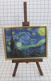 SCH009 schildersezel 16 cm hoog Vincent van Gogh