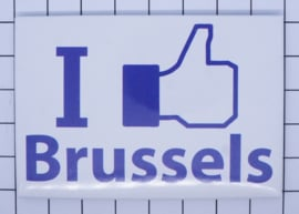 koelkastmagneet I Like Brussels N_BX002