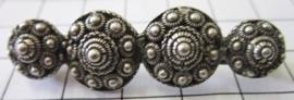 Zeeuwse 4 knops broche langwerpig ZKB901