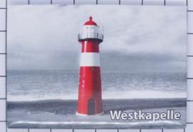 10 stuks koelkastmagneet Zeeland Westkapelle N_ZE7.903