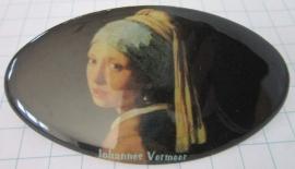 Haarspeld ovaal meisje parel Vermeer HAO 208