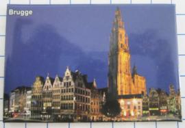 koelkastmagneten Brugge N_BB114