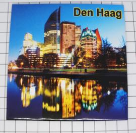 10 stuks zeer grote Mega koelkastmagneet Den Haag MEGA_V_ZH3.001