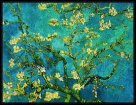 pak 25 posters (35.5 cm x 27.2 cm) POS207Vincent van Gogh amandelbloesem
