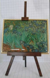 SCH004 schildersezel 22 cm hoog Vincent van Gogh, irrissen