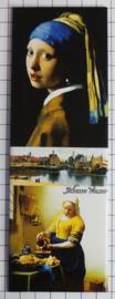 10 stuks Mega koelkastmagneet Johannes Vermeer MEGA_P_21.3001