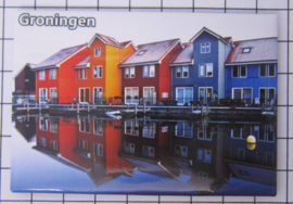10 stuks koelkastmagneet  provincie Groningen N_GR1.012