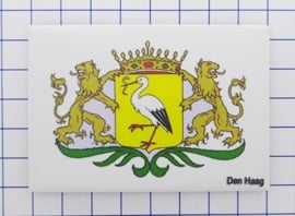 N_ZH3.013 koelkastmagneet Den Haag , pakje 10 stuks