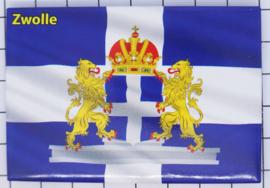 10 stuks koelkastmagneet  Zwolle N_OV3.007