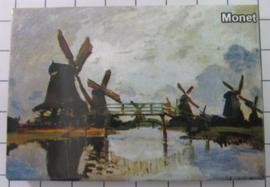 10 stuks koelkastmagneet Monet 20.268