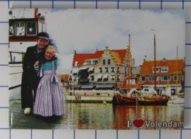 10 stuks koelkastmagneet  Volendam  N_NH4.017