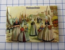 10 stuks koelkastmagneet  Volendam N_NH4.015