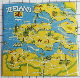 10 stuks Mega koelkastmagneet Zeeland MEGA_V_ZE1.001