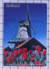 10 stuks koelkastmagneet Holland  MAC:20.284