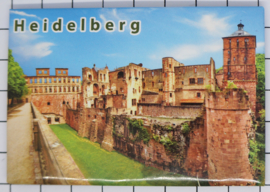 10 stuks koelkastmagneet Heidelberg N_DH017