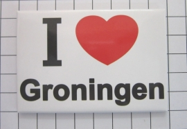 10 stuks koelkastmagneet I ♥ Groningen N_GR1.001