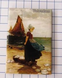 10 stuks koelkastmagneet  Volendam N_NH4.014