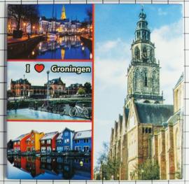 10 stuks Mega koelkastmagneet Groningen MEGA_V_GR1.001