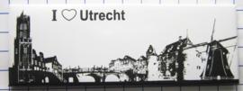 10 stuks koelkastmagneet  Utrecht P_UT1.0011