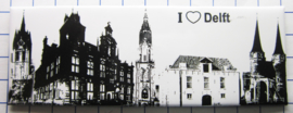 10 stuks koelkastmagneet Delft P_ZH5.0014