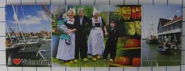 10 stuks koelkastmagneet Volendam  P_NH4.0014